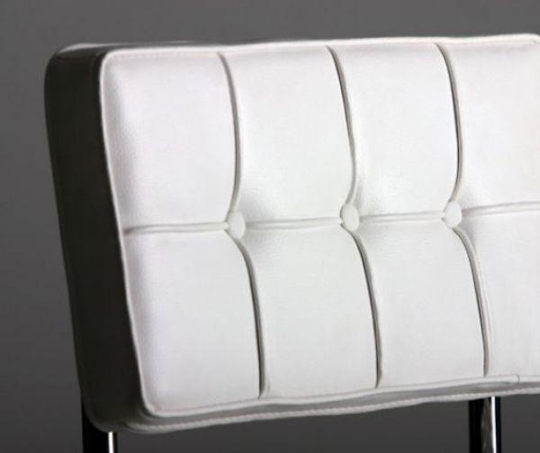 Comfortabele leren bauhaus eetkamerstoel for Bauhaus design stoelen