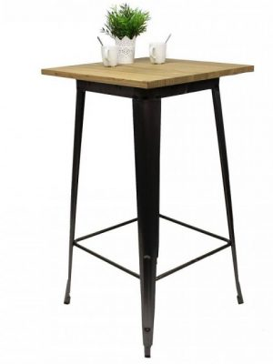 tolix-bar-table-wooden-table-top